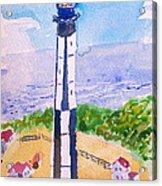 Ocean Lighthouse Acrylic Print