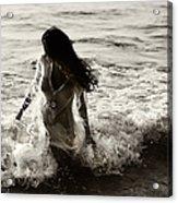 Ocean Mermaid Acrylic Print