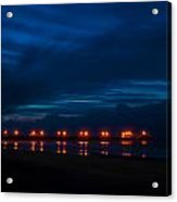 Ocean Pier At Dawn 2 Acrylic Print