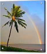 Ocean Rainbow Maui Acrylic Print