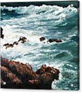 Ocean Rocks  Acrylic Print