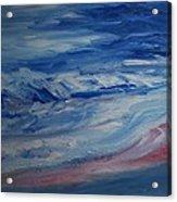 Ocean Shoreline Acrylic Print