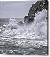 Ocean Surge At Gulliver's Acrylic Print