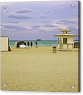 Ocean View 3 - Miami Beach - Florida Acrylic Print
