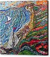 Ocean View Acrylic Print by Matthew  James