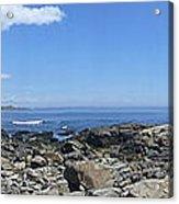 Ocean View Panoramic Acrylic Print
