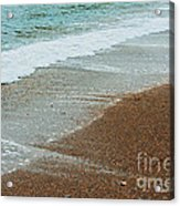 Ocean Wave Color Palette Acrylic Print