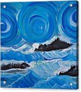 Ocean Waves Acrylic Print