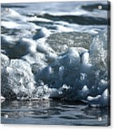 Ocean's Beauty Abstract Acrylic Print