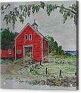 Oceanside Farm Acrylic Print