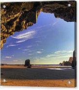 Oceanside Hideout Acrylic Print