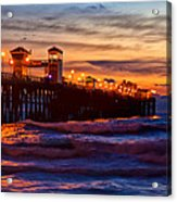 Oceanside Sunset IIi Acrylic Print