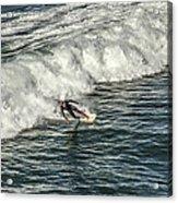 Oceanside Surfer 3 Acrylic Print