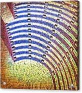 Ochre Auditorium Acrylic Print
