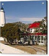 Ocracoke Island Lighthouse Img 3529 Acrylic Print