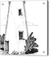 Ocracoke Light 1970s Acrylic Print