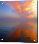 Ocracoke Nc Sunrise Acrylic Print by Joan Meyland