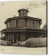 Octagon House  17739b Acrylic Print