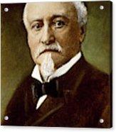 Octave Chanute (1832-1910) Acrylic Print