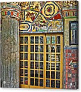 October At Fonthill Castle Acrylic Print