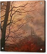 October At Holy Hill Acrylic Print