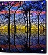October Dusk  Acrylic Print