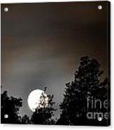 October Full Moon I Acrylic Print