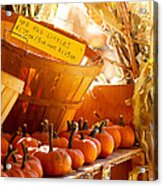 October Market Acrylic Print