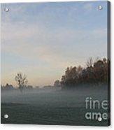 October Mist Acrylic Print