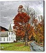 October Skies Acrylic Print