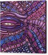 Octopus Eye Acrylic Print