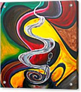 Ode To Coffee... Acrylic Print