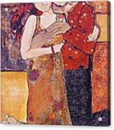 Ode To Klimt Acrylic Print