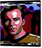 Ode To Star Trek Acrylic Print by John Malone