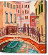 Ode To Venice Acrylic Print