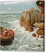 Odysseus And Polyphemus Acrylic Print