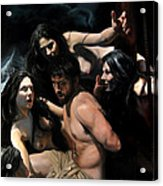 Odysseus And The Sirens Acrylic Print