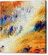 Odyssey - Abstract Art By Sharon Cummings Acrylic Print