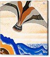 Odyssey Illustration  Bird Of Potent Acrylic Print