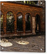 Of Courtyards And Elegant Arches  Acrylic Print
