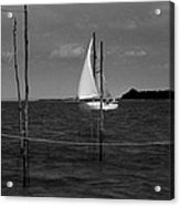 Of Sailers And Watermen Acrylic Print