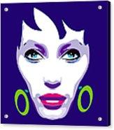Ofelia Portrait Acrylic Print