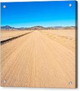 Off-road To Death Valley National Park Acrylic Print