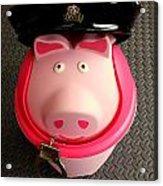 Officer Bacon Wants A Doughnut Acrylic Print