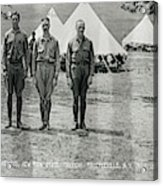 Officers At Camp Newayo, New York State Acrylic Print
