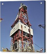Offshore Drilling Tower Acrylic Print