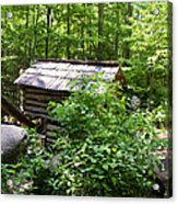 Ogle Tub Mill Roaring Fork Smoky Mountains Acrylic Print