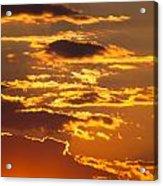 Ograzhden Mountain Sunset Acrylic Print