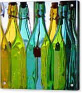 Ogunquit Bottles Acrylic Print