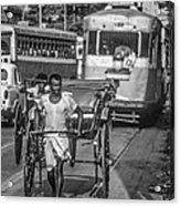 Oh Calcutta Monochrome Acrylic Print
